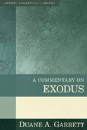 Kec: A Commentary on Exodus Hardback