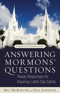 Answering Mormon's Questions Paperback