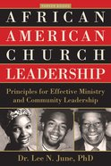 African American Church Leadership Paperback