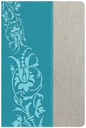 HCSB Holman Study Bible For Women HCSB Edition Teal/Gray Linen