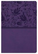 NKJV Compact Ultrathin Bible Purple Indexed