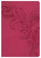 NKJV Compact Ultrathin Bible Pink Indexed