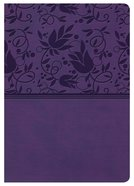 NKJV Large Print Compact Reference Bible Purple Indexed
