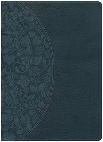 NKJV Large Print Holman Study Bible Dark Teal