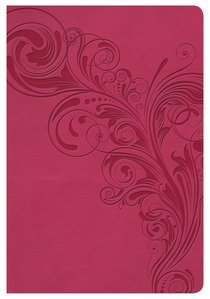 KJV Compact Ultrathin Bible Pink Indexed
