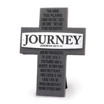 Cross Cast Stone: Journey: Badge of Faith