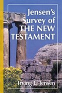 Jensen's Survey of the New Testament Hardback
