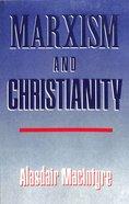 Marxism & Christianity Paperback