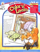 Bible Story Color 'N' Learn Paperback