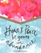Purse Notes: Grace & Peace Be Yours in Abundance Stationery