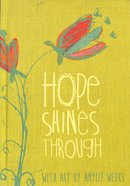 Journal: Hope Shines (Lime Bookcloth Cover) Hardback