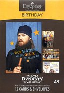 Boxed Cards Birthday: Duck Dynasty Values