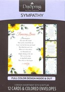 Boxed Cards Sympathy: Sympathy Hymns Box