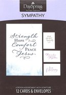 Boxed Cards Sympathy: Simply Stated Sympathy Box