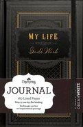 Mini Banded Journals: My Life, God's Work (Black/pattern) Paperback
