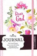 Mini Banded Journals: Dear God (Floral) Paperback