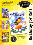 Boxed Cards Birthday For Kids: Bees & Flowers