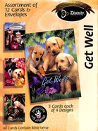 Boxed Cards Get Well: Puppies