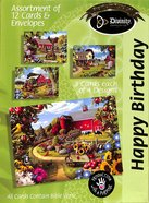 Boxed Cards Happy Birthday: Cottage Gardens Box