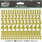 Olive You (Olive Numbers) (Illustrated Faith Homespun Number Stickers Series) Stickers