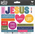 His Name (Illustrated Faith Sticker Icon Series) Stickers