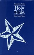 KJV Kids' Study Bible Blue Star (Black Letter Edition) Premium Imitation Leather