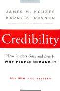Credibility Hardback