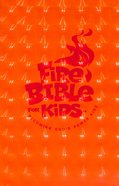 NIV Fire Bible For Kids Red Imitation Leather