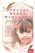 Special Needs Ministry For Children Paperback