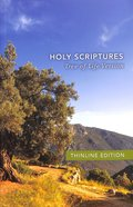 Tlv Thinline Bible Holy Scriptures Paperback