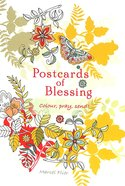 Postcards of Blessings: Colour, Pray, Send! (20 Pack) Pack