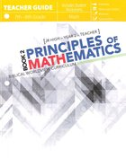 Principles of Mathematics Book 2 (Teacher Guide/incl Student Worksheets) Paperback