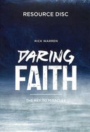 Daring Faith: Campaign Resource CDROM Cd-rom