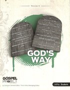 God's Way (Study Guide) (#08 in Gospel Project For Students Series)