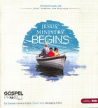 Jesus Ministry Begins (Preschool Leader Kit) (#09 in The Gospel Project For Kids 2012-15 Series)