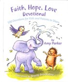 Faith, Hope, Love Devotional Padded Hardback