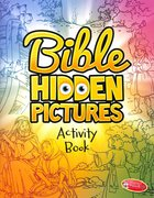 Bible Hidden Pictures Activity Book Reproducible Paperback