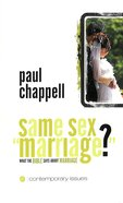 "Same Sex ""Marriage"" (Contemporary Issues Series) Booklet"