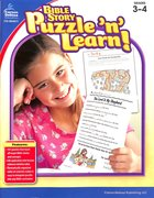 Bible Story Puzzle 'N' Learn!, Grades 3 - 4 Paperback