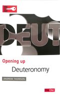 Deuteronomy (Opening Up Series)