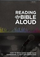 Reading the Bible Aloud DVD DVD