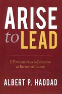 Arise to Lead Paperback