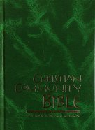 Christian Community Bible Large Print Thumb Index Green
