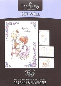 Boxed Cards Get Well: Precious Moments