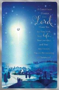 Christmas Premium Boxed Cards: A Christmas Prayer (John 1:16 Niv)