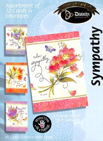 Boxed Cards Sympathy: Bouquets