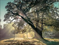 Mounted Print: Breaking Through, Let the Light Shine on Your Face