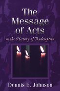 The Message of Acts Paperback