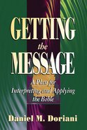 Getting the Message Paperback