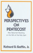 Perspectives on Pentecost